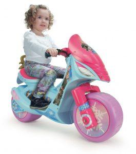 Moto électrique la Reine des neiges