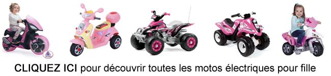moto electrique pour filles