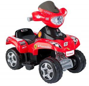 quad enfants Ferrari
