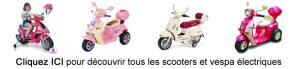 Vespa enfants et scooters électriques
