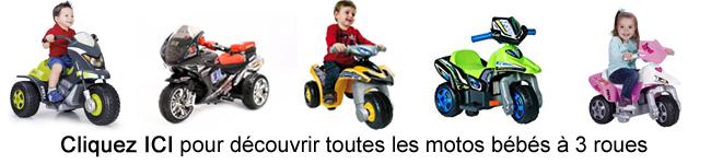 Moto bebe à 3 roues